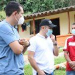 #AsíVivimos la visita a la escuela rural de la vereda Cardalito.