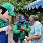Socialización del proyecto ReciCaldas en el barrio La Rivera.