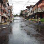 Así avanzan los trabajos de pavimentación de la calle 144 sur, en el barrio los Cerezos.