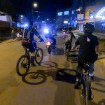 Cicloruta Familiar por las calles de nuestro municipio, una actividad de la semana de la seguridad vial.