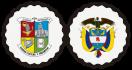 Escudo de Caldas y escudo de Colombia